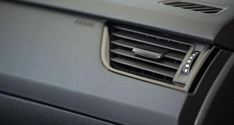 Lüftung der Klimaanlage