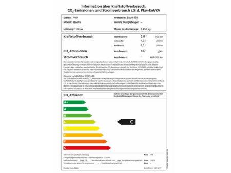VW-Beetle-Cabriolet-1.4-TSI Design - PKW Label