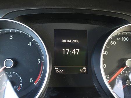 VW Golf VII Variant Trendline BMT Amaturen 1
