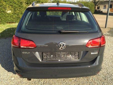VW Golf VII Variant Trendline BMT hinten