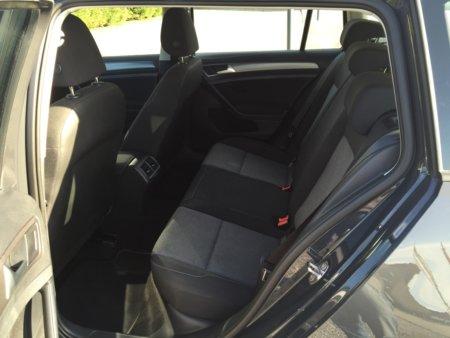 VW Golf VII Variant Trendline BMT hinten innen