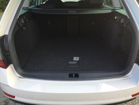Skoda Octavia 1,4TSI Style - Kofferraum