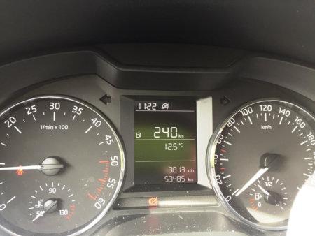 Skoda Octavia 1,6TDI Ambition - Kombiinstrumente