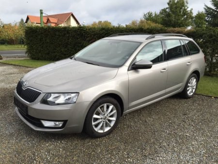 Skoda Octavia 1,6TDI Ambition - seitlich links