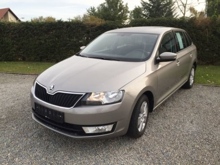 Skoda Rapid Spaceback 1,2TSI Ambition - seitlich links