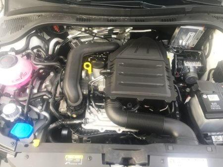 Skoda Fabia 1,0 TSi Kombi Style - Motorraum