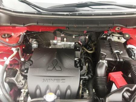 Mitsubishi ASX 1,6 Klassik - Motorraum