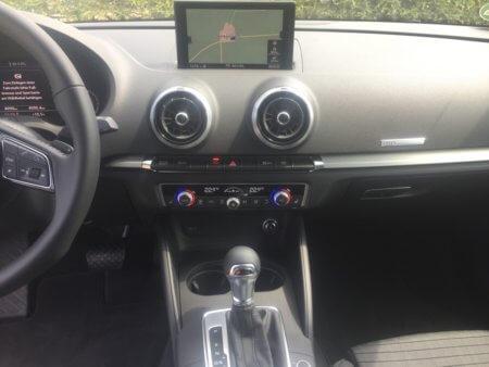 Audi A3 1,5 TSI Sportback - Mittelkonsole