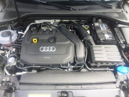 Audi A3 1,5 TSI Sportback - Motorraum