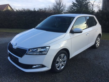Skoda Fabia 1.0 Active seitlich links