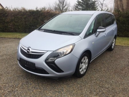 Opel Zafira Tourer Selection - seitlich links