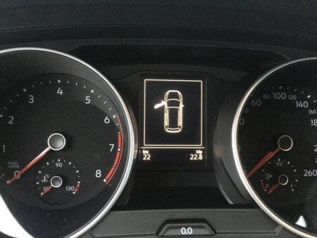 VW Tiguan 1,4 TSI - Trendline BMT - Kombiinstrumente