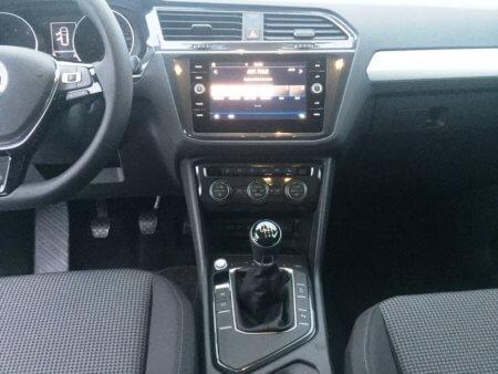 VW Tiguan 1,4 TSI - Trendline BMT - Mittelkonsole